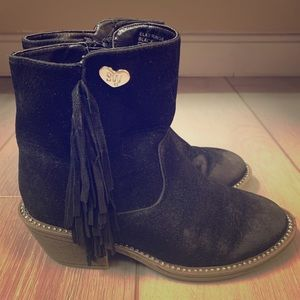 Little girls Stuart Weitzman bootie!